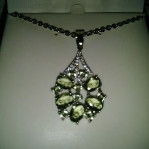 Jewelry - Sterling silver green amethyst